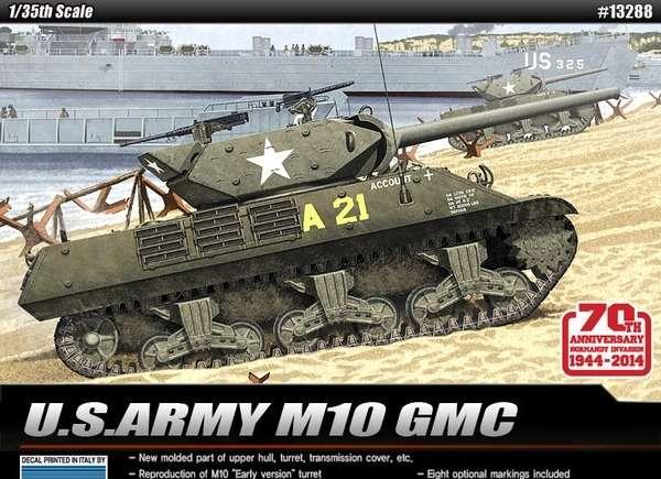 MOdel do sklejania niszczyciela czołgów M10 Wolverine-image_Academy_13288_1