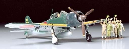 Japoński myśliwiec A6N5c typ 52 Zero (Zeke), plastikowy model do sklejania Tamiya 61027 w skali 1:48-image_Tamiya_61027_1