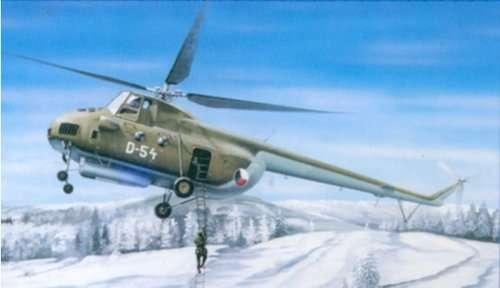 Radziecki helikopter Mil Mi-4A Hound, plastikowy model do sklejania Trumpeter 05101 w skali 1:35-image_Trumpeter_05101_1