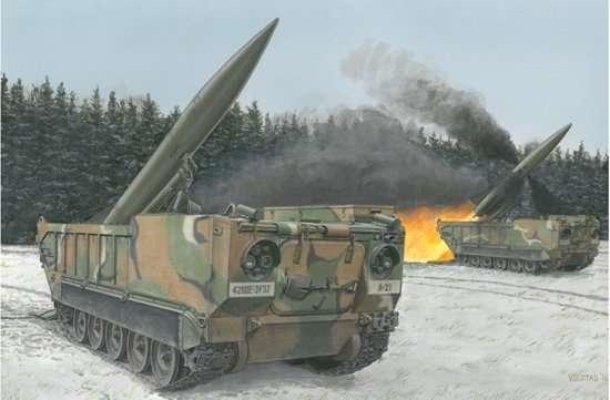 Taktyczna, samobieżna wyrzutnia rakiet balistycznych M652 , plastikowy model do sklejania Dragon 3576 w skali 1:35-image_Dragon_3576_1