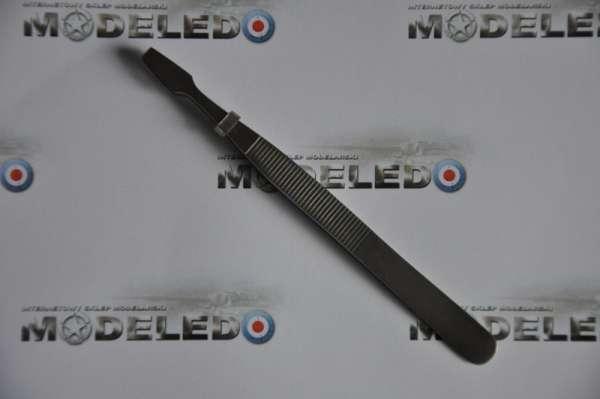 Pinceta modelarska szpatułkowa płaska - Adammed Z11-image_ADAMMeD_PASZP_1