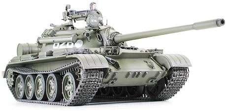 Plastikowy model czołgu T55A do sklejania w skali 1:35, model Tamiya 35257-image_Tamiya_35257_1