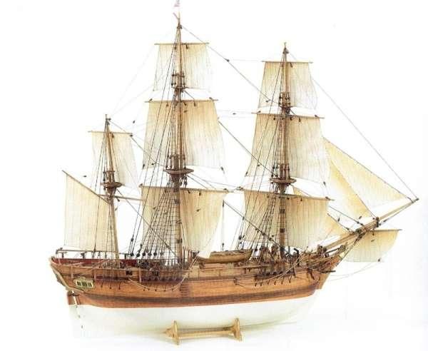 Billing_Boats_HMS_Bounty_BB492 - drewniany model żaglowca do sklejania, modeledo.pl_sklep_modelarski_image_1-image_Billing Boats_BB492_1