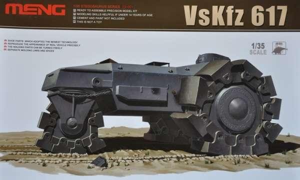 Niemiecki prototypowy pojazd torujący VsKfz 617, plastikowy model do sklejania Meng SS-001 w skali 1:35-image_Meng_SS-001_1