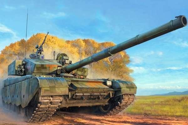 Chiński współczesny czołg podstawowy trzeciej generacji ZTZ-99A , plastikowy model czołgu do sklejania Hobby Boss 83892 w skali 1:35-image_Hobby Boss_83892_1