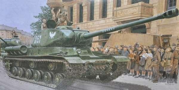 Model radzieckiego czołgu IS2 do sklejania w skali 1/35, Dragon 6012-image_Dragon_6012_1