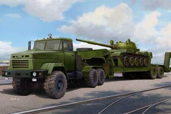 model_plastikowy_do_sklejania_hobby_boss_85513_ukraine_kraz_6446_tractor_with_maz_sklep_modelarski_modeledo_image_1-image_Hobby Boss_85513_1