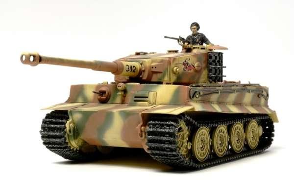 Niemiecki czołg Tiger I - późna produkcja, plastikowy model do sklejania Tamiya 32575 w skali 1:48-image_Tamiya_32575_1