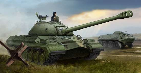 Plastikowy model do sklejania radzieckiego czołgu T-10 ( IS-8 ) w skali 1:35, model Trumpeter 05545.-image_Trumpeter_05545_1