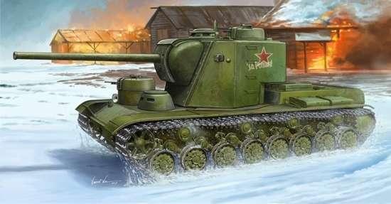 Radziecki super ciężki czołg KW-5, plastikowy model do sklejania Trumpeter 05552 w skali 1:35-image_Trumpeter_05552_1