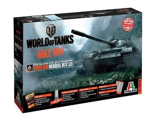 Model World of tank do sklejania z kodami do gry Type59 Italeri 36508 ita36508_image_1-image_Italeri_36508_1