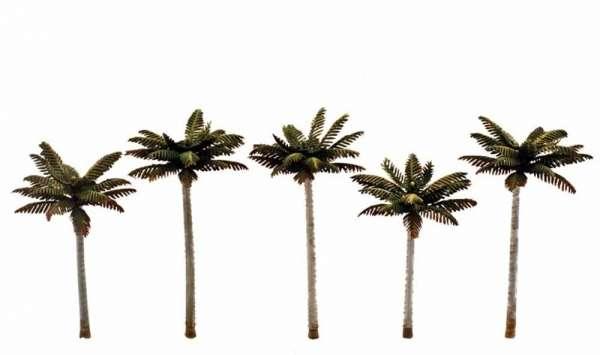 Elementy do makiet, dioram, itp. - drzewka / palmy niskie - 5 szt - Woodland Scenics TR3597-image_Woodland Scenics_TR3597_1
