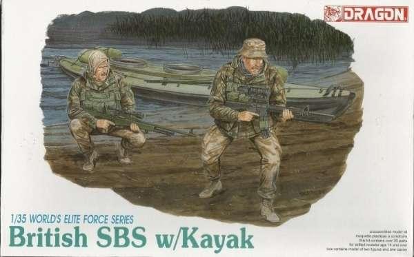Zestaw figurek brytyjskich komandosów SBS z kajakami -image_Dragon_3023_1