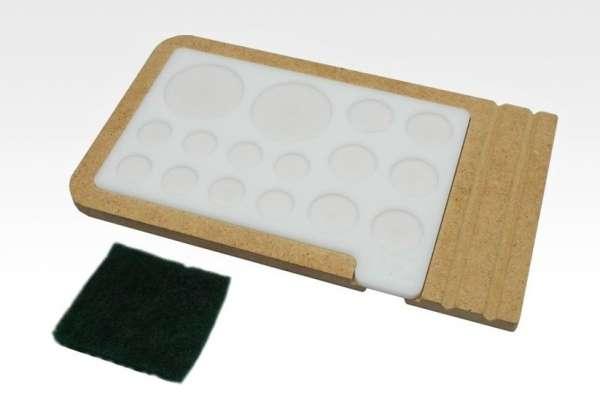 Hobby Zone PM1 - akrylowa paleta do mieszania farb i pigmentów.-image_Hobby Zone_PM1_1