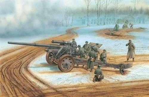 Niemiecka armata polowa s. 10cm KANONE 18, plastikowy model do sklejania Dragon 6411 w skali 1:35.-image_Dragon_6411_1