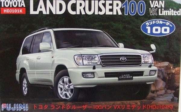 Samochód Toyota Land Cruiser, plastikowy model do sklejania Fujimi ID-132 (038049) w skali 1:24 - image a_1-image_Fujimi_ID-132_1