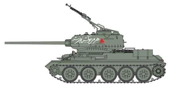 Model czołgu T-34-85 syryjskiej armii w skali 1/35 - dragon 3571 - DRA3571-image_Dragon_3571_1