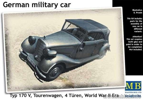 Model Mercedes-Benz 170V Tourenwagen MB35100 model_do_sklejania_master_box_35100_image_1-image_MB Master Box LTD_35100_1