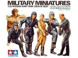 Radzieccy czołgiści, plastikowe figurki do sklejania Tamiya 35214 w skali 1:35-image_Tamiya_35214_1