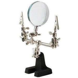 Modelarski uchwyt ze szkłem powiększającym - Fine Art FA-540-image_Fine Art_FA-540_1