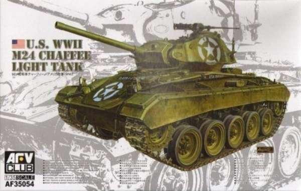 model_us_m24_chaffee_light_tank_afv_club_af35054_sklep_modelarski_modeledo_image_1-image_AFV Club_AF35054_1