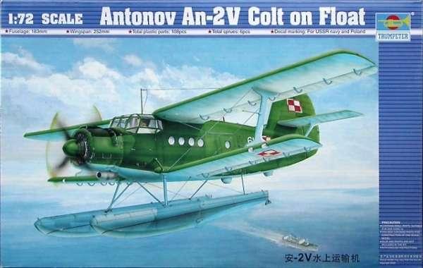 Dwupłatowiec Antonov An-2V Colt, plastikowy model do sklejania Trumpeter 01606 w skali 1:72-image_Trumpeter_01606_1