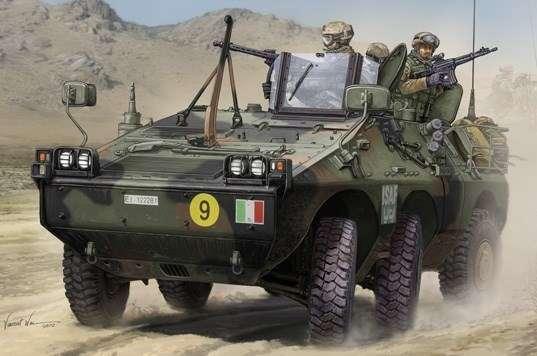 Model włoskiego opancerzonego transportera Puma, plastikowy model do sklejania Trumpeter 05526 w skali 1/35.-image_Trumpeter_05526_1