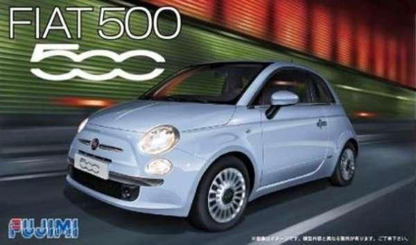 Samochód Fiat 500 , plastikowy model do sklejania Fujimi RS-77 (123622) w skali 1:24 - image a_1-image_Fujimi_RS-77_1