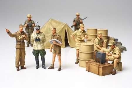 Niemieccy żołnierze Afrika Korps, plastikowe figurki do sklejania Tamiya 32561 w skali 1:48.-image_Tamiya_32561_1