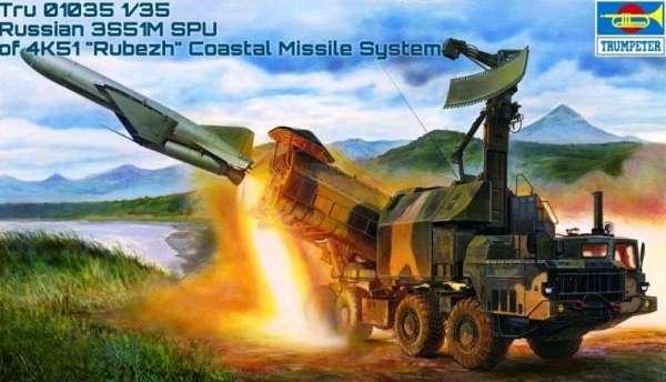 Rosyjski system obrony wybrzeża Rubież , plastikowy model do sklejania Trumpeter nr 01035 w skali 1:35-image_Trumpeter_01035_1