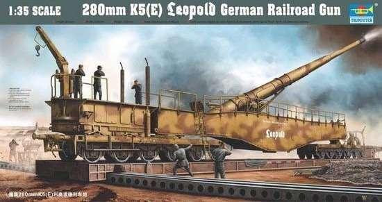 model_do_sklejania_niemieckiego_dziala_kolejowego_28cm_kanone_k5_e_leopold_trumpeter_00207_sklep_modelarski_modeledo_image_1-image_Trumpeter_00207_1