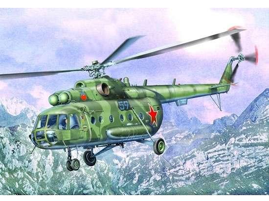 Rosyjski helikopter Mi-8MT/Mi-17, plastikowy model do sklejania Trumpeter 05102 w skali 1:35-image_Trumpeter_05102_1