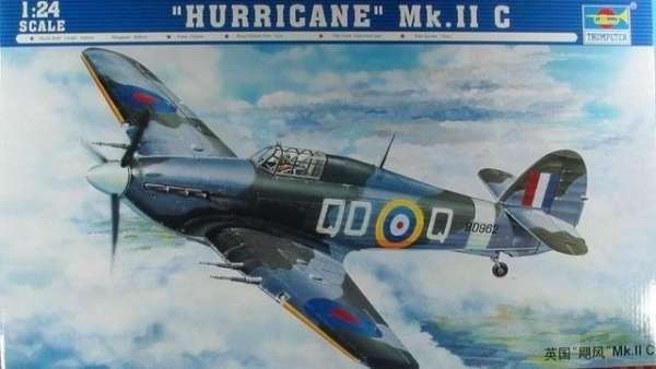 Opakowanie modelu Hurricane Mk.II c w skali 1/24. Trumpeter numer 02415.-image_Trumpeter_02415_1