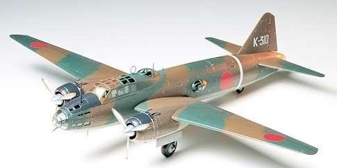 Japoński samolot torpedowo-bombowy Mitsubishi Isshikirikko typ 11, plastikowy model do sklejania Tamiya 61049 w skali 1:24.-image_Tamiya_61049_1