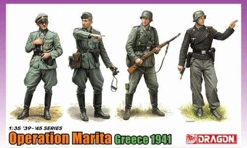 Niemieccy żołnierze - operacja Marita (Grecja 1941), plastikowe figurki do sklejania Dragon 6783 w skali 1/35.-image_Dragon_6783_1