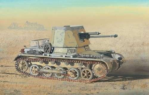 Niemiecki niszczyciel czołgów Panzerjager I 4.7cm PaK(t), plastikowy model do sklejania Dragon 6230 w skali 1:35.-image_Dragon_6230_1