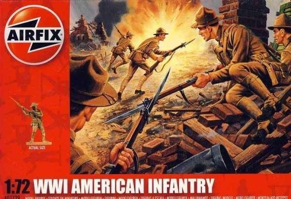figurki_airfix_a01729_american_infantry_wwi_sklep_modelarski_modeledo_image_1-image_Airfix_A01729_1