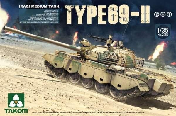 Iracki czołg Type 69 II, plastikowy model do sklejania Takom 2054 w skali 1:35-image_Takom_2054 _1