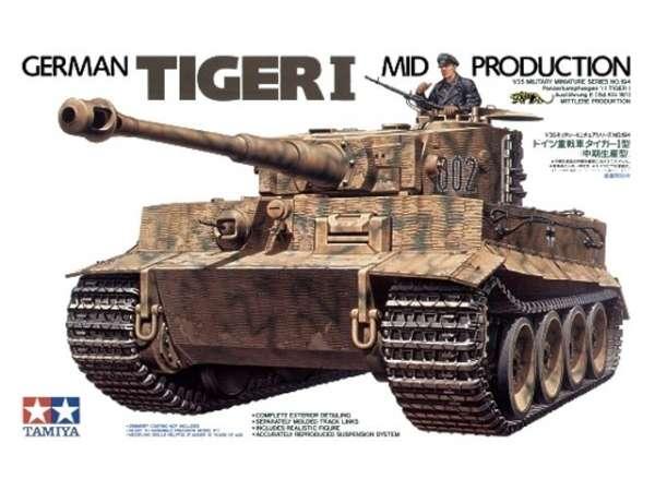 Niemiecki czołg Tiger I, plastikowy model do sklejania Tamiya 35194 w skali 1:35.-image_Tamiya_35194_1