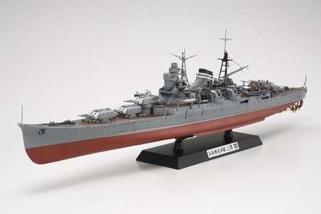 Japoński lekki krążownik Mikuma, plastikowy model do sklejania Tamiya 78022 w skali 1:350-image_Tamiya_78022_1