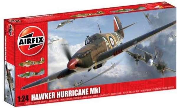 Hawker Hurricane Mk.I Airfix A14002 model_do_sklejania_skala_1_24_image_1-image_Airfix_A14002A_1