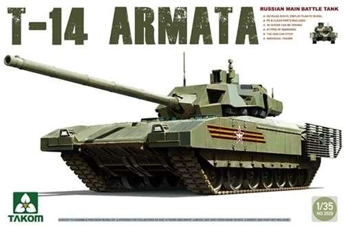 Rosyjski czołg podstawowy T-14 Armata, plastikowy model do sklejania Takom 2029 w skali 1:35.-image_Takom_2029_1