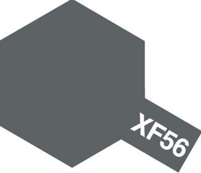 Modelarska matowa farba akrylowa w kolorze XF-56 Metallic Grey o pojemności 23ml, Tamiya 81356.-image_Tamiya_81356_1