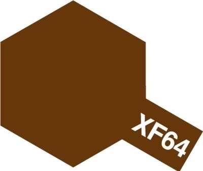 Modelarska matowa farba akrylowa w kolorze XF-64 Red Brown o pojemności 23ml, Tamiya 81364.-image_Tamiya_81364_1