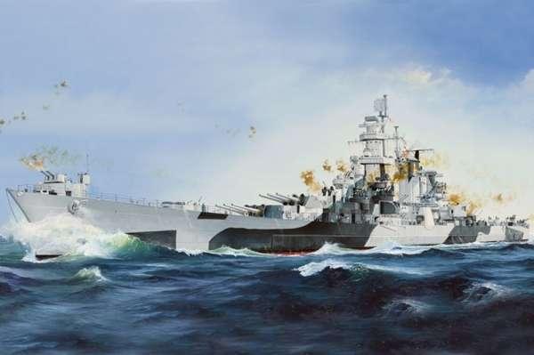Amerykański wielki krążownik USS Alaska CB-1 , plastikowy model do sklejania Hobby Boss 86513 w skali 1:350-image_Hobby Boss_86513_1