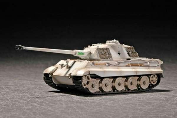 model_trumpeter_07292_tank_king_tiger_porsche_turret_with_zimmerit_hobby_shop_modeledo_image_1-image_Trumpeter_07292_1