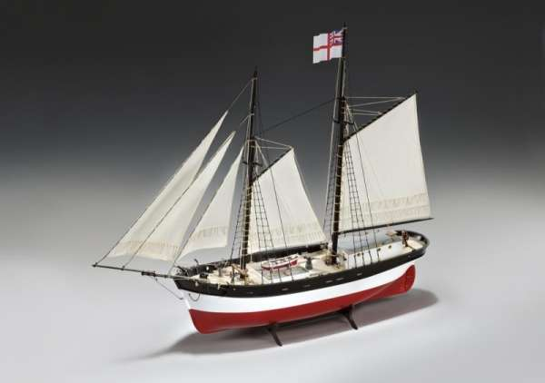 model_drewniany_do_sklejania_amati_1450_hunter_q_ship_hobby_shop_modeledo_image_1-image_Amati_1450_1