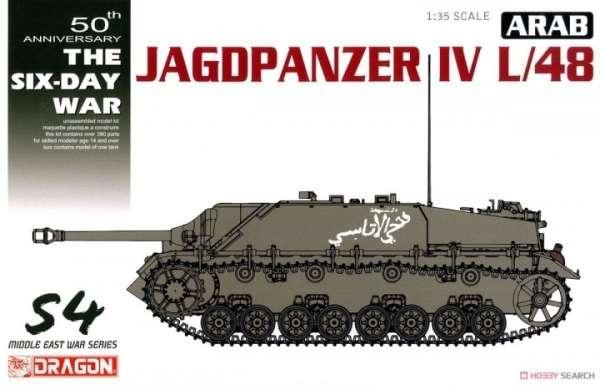 Model niszczyciela czołgów Jagdpanzer IV L/48 w edycji specjalnej z Wojny Sześciodniowej -image_Dragon_3594_1
