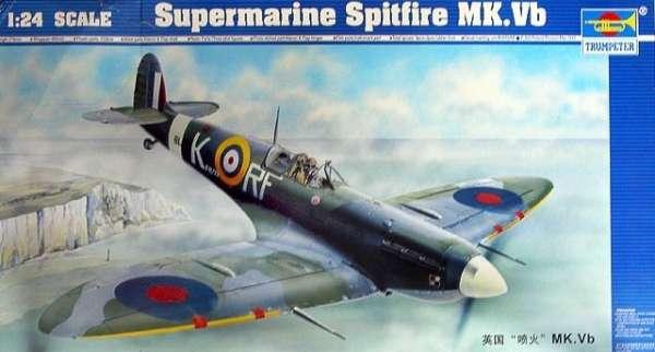 Opakowanie modelu Supermarine Spitfire Mk.Vb w skali 1/24, Trumpeter no. 02403-image_Trumpeter_02403_1