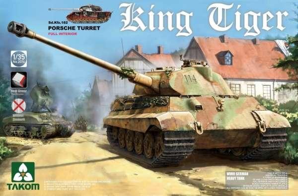 Model czołgu Tygrys Królewski w skali 1/35, model Takom 2074.-image_Takom_2074_1